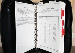 Cessna 182s Manual In A Zippered Binder