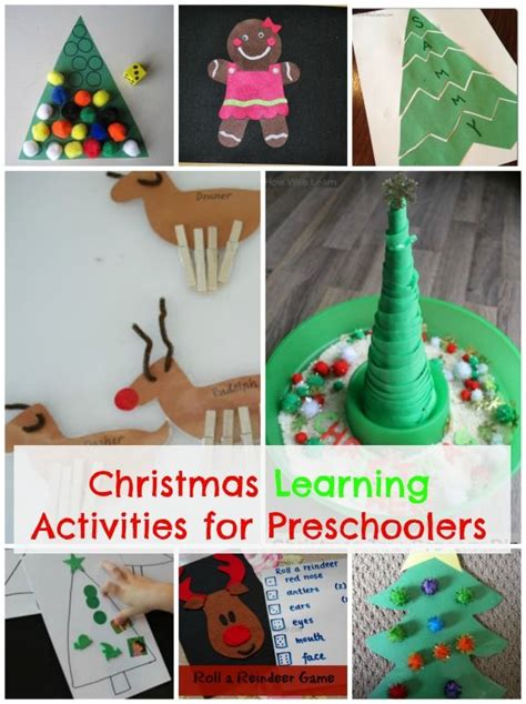 christmas activities for preschoolers