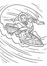 Miles Tomorrowland Coloring Pages sketch template