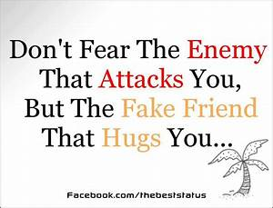 quotes about fake friends and enemies
