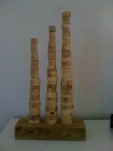 Objet Deco Bois Naturel : objet deco en bois l 39 habis ~ Teatrodelosmanantiales.com Idées de Décoration