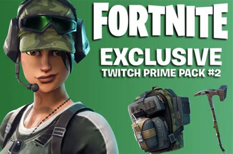 fortnite twitch prime pack  release   unlock