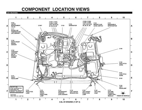 1997 Ford 4 6l Engine Diagram by 4 6l Crate Engine Wiring Diagram And Fuse Box
