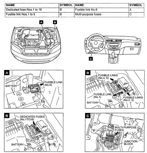 Need Fuse Box Diagram For Lancer