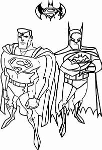 Batman Vs Superman Coloring Page | Wecoloringpage