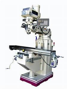Gmc 10 U0026quot  X 54 U0026quot  Manual Knee Type Vertical Milling Machine