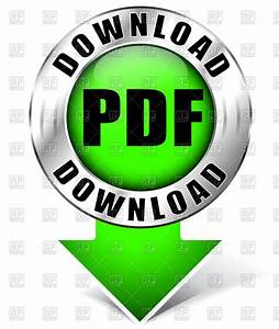 Green and chrome download pdf icon Vector Image #70697 ...