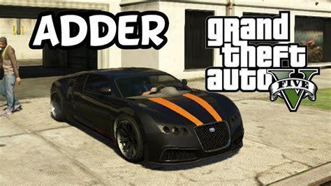 Gta 5 Where To Find Bugatti by Grand Theft Auto 5 Secret Car Location Adder Bugatti