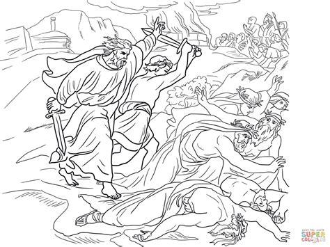 Prophet Elijah Coloring Pages Free