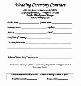 wedding contract template 24 download free documents With wedding services contract