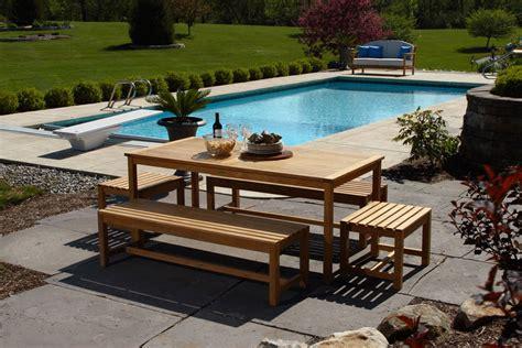 teak outdoor furniture grezu home interior decoration