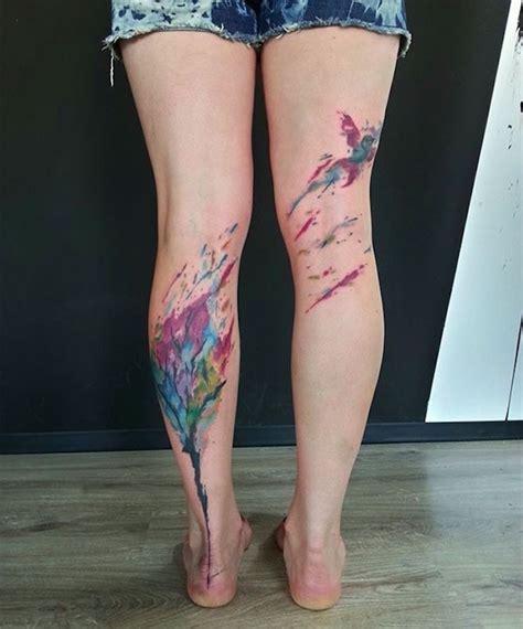 Tatouage Mollet Femme 1001 Id 233 Es Tatouage Jambe Faites Vous En De Belles En 50 Photos