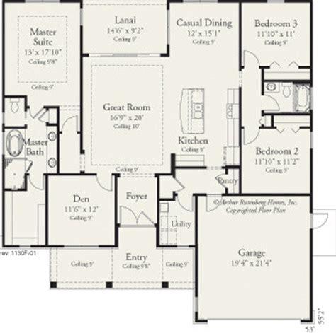 Arthur Rutenberg Amelia Floor Plan by 1130 Traditional Floor Plan Ta By