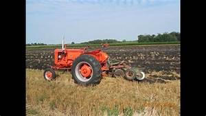 1952 Case Vac 13 Pulling A Case 2-14 U0026 39 S Mounted Plow