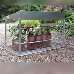 Mini Serre Jardin : mini serre en verre et aluminium serre jardin ~ Premium-room.com Idées de Décoration