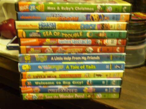 16 nick jr childrens dvd lot wubbzy pets blue s clues diego more ebay