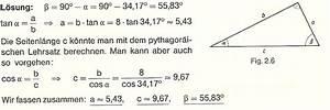 Sinus Cosinus Berechnen : trigonometrie lernpfad ~ Themetempest.com Abrechnung