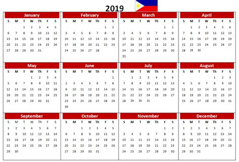 philippines   printable calendar calendar