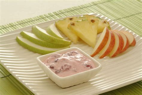Cranberry Dip With Fresh Fruit Kidney Friendly Recipes