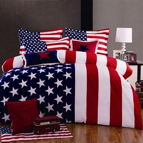 american flag comforter white and blue bedding set whyrll