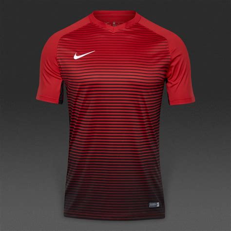 nike precision iv ss jersey mens football teamwear