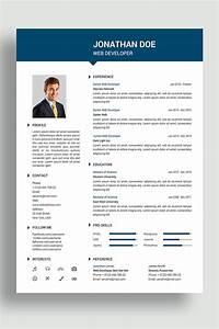 Cv Template Wordpress Free Jonathan Resume Template 69421