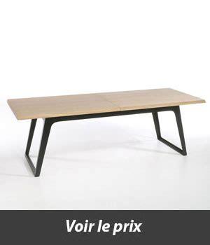 table carrée avec rallonge quelle table style industriel avec rallonges choisir