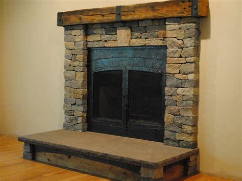 fireplace makeover boston blend ledgestone thin veneer