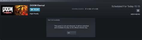 VPN early unlock working for Steam : Doom
