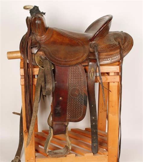 western brand saddle