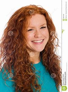 Pretty Girl With Red Hair Stock Image Image Of Fashion