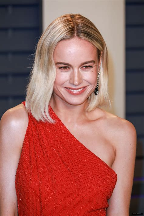 Brie Larson Vanity Fair Oscar Party More Pics