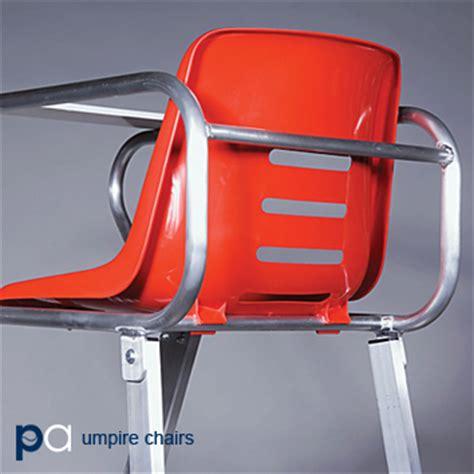platinum tennis umpire chair in green or aluminum 5 ship