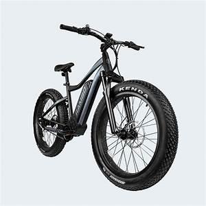 Rambo Pursuit 750w 26 Matte Black And Charcoal Electric Bike