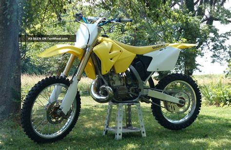 suzuki rm  dirt bike  rebuilt