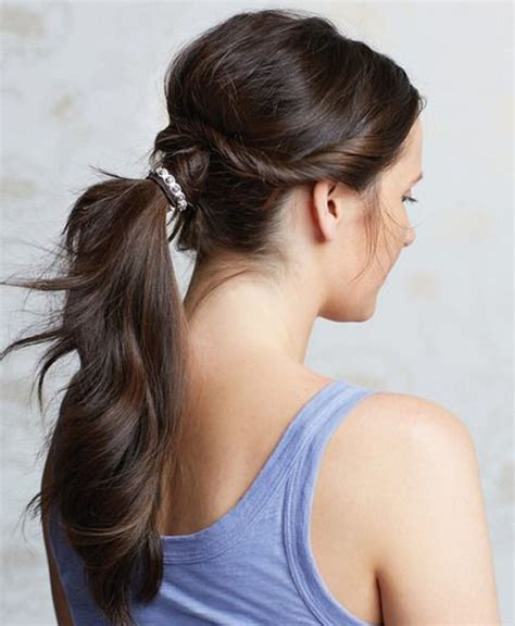 Summer Ponytail Hairstyles by Twisted Ponytail Hairstyles For Summer 2016 Dose