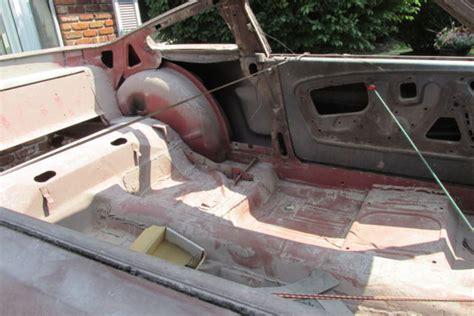 mustang fastback nos sheet metal rolling body ford