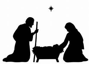 Pin Nativity-silhouette-made-easy-cottagecutz-die-4x4
