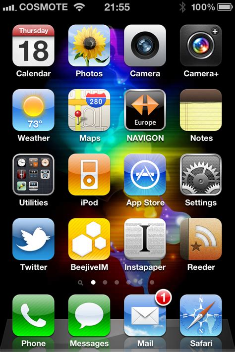 iphone home iphone home screen