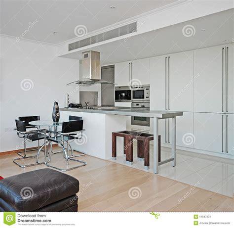 cuisine ouverte moderne cuisine ouverte moderne de plan image stock image 11547231