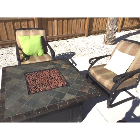 bjs patio furniture cushions bjs sunset bay conversation replacement cushion set garden