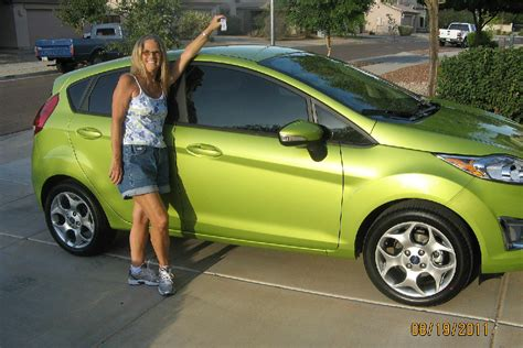 fords green ford fiesta earnhardt reviews