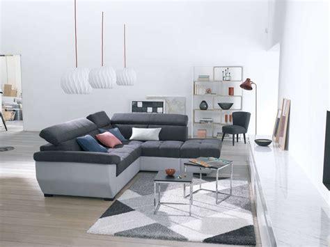 conforama promo canapé canapé d 39 angle fixe droit 4 places speedway coloris