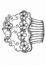 Kuchen Letzte sketch template