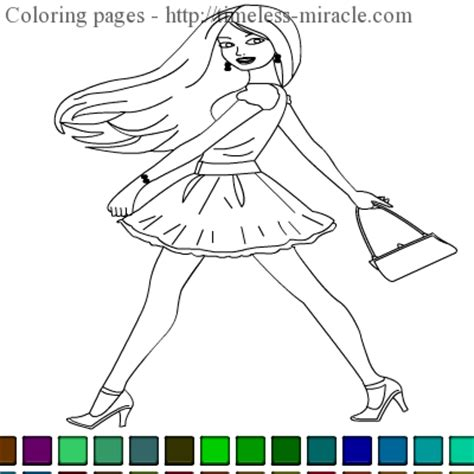 coloring pages  girls games timeless miraclecom