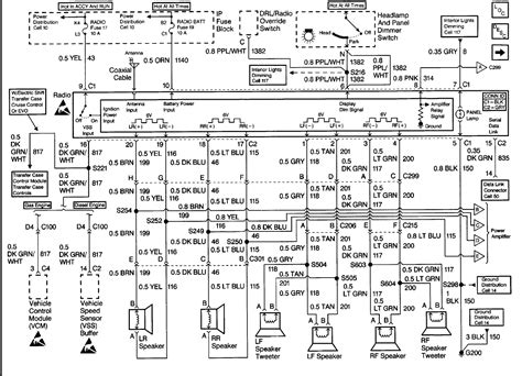 2000 Tahoe Stereo Wiring Diagram Schematic by I A 2000 Chevy Tahoe Z71 My Radio Will Stay On And