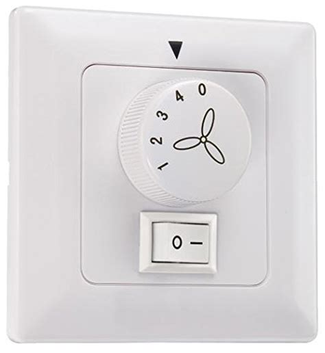 westinghouse wall unit with light switch white