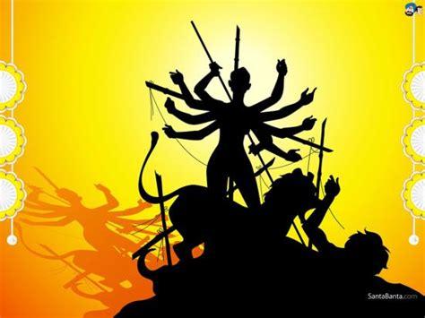 Animated Durga Wallpaper - navratri wallpapers maa durga wallpapers hind utsav