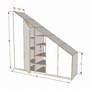 Escalier Sur Mesure Prix : armoire de rangement sous escalier ~ Edinachiropracticcenter.com Idées de Décoration