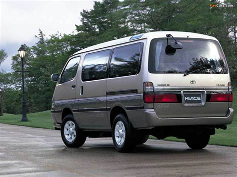 Toyota Hiace Hd Picture by Pictures Of Toyota Hiace Jp Spec 1999 2004 1024x768